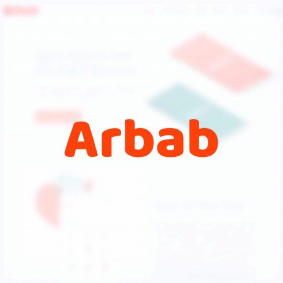 Arbab App Icon on Portfolio