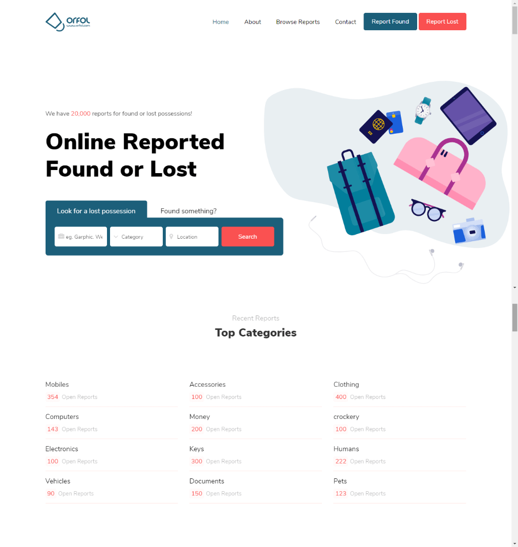 ORFOL Home Page