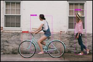 yolov4: person & cycle